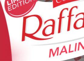 0933b8359 Malinové pohladenie v limitovanej letnej edícii Raffaello Malina